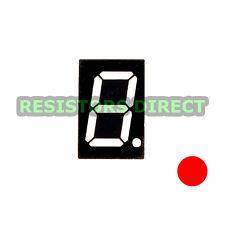 "10pcs 0.56"" Red 1 Digit LED 7 Segment Common Anode for Arduino / Raspberry Pi"