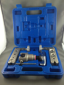 R410A REFRIGERATION RATCHET ECCENTRIC CONE FLARING TOOL KIT VFT-808C