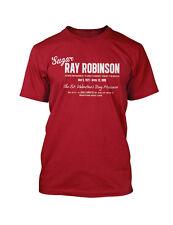 Sugar Ray Robinson T-Shirt champion BOXING vintage retro style t-shirt