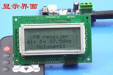 Fm Transmitter Digital Led Radio Station Stereo module power Receive 76-108m diy