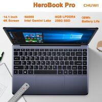 CHUWI PC 14,1 pollici HeroBook Pro Intel N4000 CPU 8GB RAM +256GB SSD