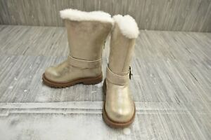 **Carters June2 Boots - Toddler Girl's Size 6, Gold NEW