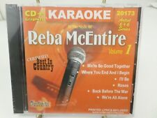 CHARTBUSTER  KARAOKE 20173 Vol 1 Reba McEntire  Vol CD+G player needed New