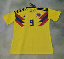 Adidas Colombia National Soccer Team Radamel Falcao #9 Jersey Size L.
