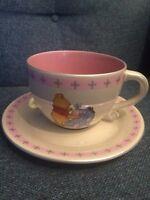 Disney Winnie The Pooh And Eeyore Jumbo Mug And Saucer
