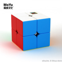 Moyu MeiLong 2x2 Smooth Speed Magic Cube Toy Puzzle stickerless