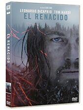EL RENACIDO DVD THE REVENANT LEONARDO DICAPRIO NUEVO ( SIN ABRIR ) OSCAR
