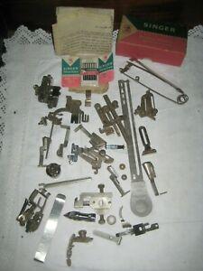 Job Lot Vintage Singer Sewing Machine Accessories