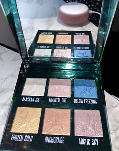 DISCONTINUED Jeffree Star Northern Lights Supreme Frost Pro Highlight Palette