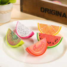 2X Creative Fruit Plastic Pencil Sharpener Kid Student Novelty School Supplies*S