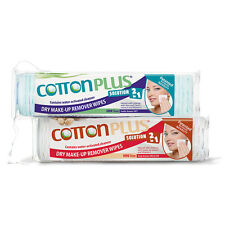 COTTON PLUS SOLUTION 2 IN 1 - EYE AND FACE MAKE-UP REMOVER MINI 80 COMBO SET