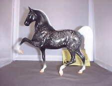 """New ListingVintage Hartland Black Dappled Five Gaiter Horse """"Zest For Living"""" Limited Ed."""