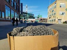 Authentic Fenway Park 1 Square Foot of Backstop Netting Red Sox Game Used MLB