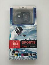 Sports Cam 720P HD Camera  Includes  Accessory Kit