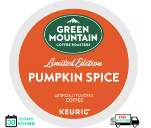 Green Mountain Pumpkin Spice Keurig Coffee 24 Count k-cups