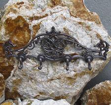 Barra de gancho guardarropa muro gancho hierro fundido landhaus gancho clave barra de Antik
