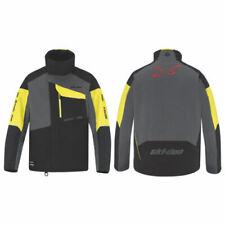 Ski-Doo Snowmobile Men's Helium Enduro Pro Jacket Black/Yellow Xl 4408111296