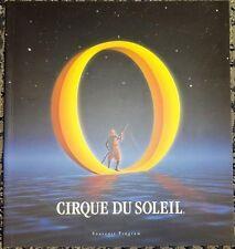 CIRQUE DU SOLEIL O Official Souvenir Program Bellagio Las Vegas MINT ORIGINAL