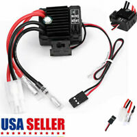 1:10 Waterproof Brushed 1060 60A Electronic Speed Controller ESC for RC Car NEW