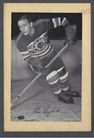 1934-44 Beehive Group I Chicago Blackhawks Hockey Photos #42 Glenn Brydson