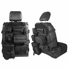 Front Seat Cover Case w/ Organizer Storage Bag Molle Pouch Jeep Wrangler TJ JK