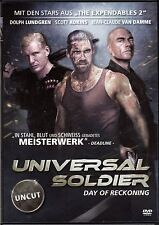 Universal Soldier - Day of Reckoning , 100% uncut , DVD Region2 , new & sealed