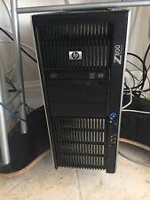 HP Z800 WORKSTATION HEXAD 12 Cores  2x (Xeon Six Core) 2.67GH X5650 24GB 750GB