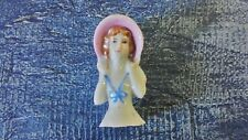 Half Doll Pin Cushion Vintage Porcelain Japan 2 inches Victorian