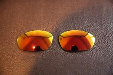 PolarLenz Polarized Fire Red Replacement Lens for-Oakley Straight Jacket 2007+