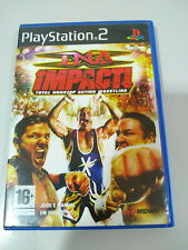 Tna Impact! total Nonstop Action Wrestling - PLAYSTATION 2 Set For Ps2