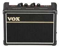 VOX AC2RV Black Rhythm Machine & Effecter Equipped Electric Guitar