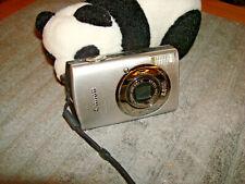 Canon PowerShot Digital ELPH SD870 IS 8.0MP Digital Camera - Silver