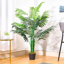 Artificial Palm Tree with Pot Green Fake Plant Indoor Outdoor Home Office Decor