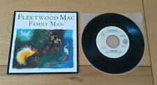 "RARE Fleetwood Mac Family Man 1987 USA Promo 7"" Pic Sleeve VG+/Ex Classic Rock"