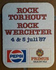 1987 - ROCK TORHOUT - ROCK WERCHTER   ----------- 343