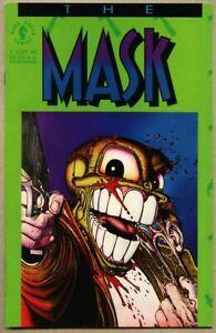 The Mask #1-1991 nm 9.4 Dark Horse 1st series 1st App Lt Kellaway as the Mask.