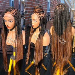 Braided Wigs(knotless Braids Full Lace)
