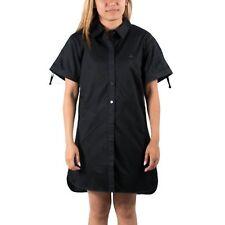 PUMA X RUDOLF DASSLER SCHUHFABRIK WOMENS SHIRT DRESS BLACK SIZE L (T30) $110
