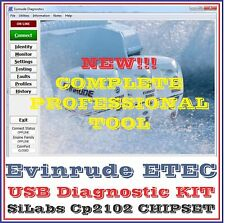 Evinrude Diagnostic USB Cable for FICHT and ETEC Best Quality