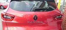 Renault Kadjar 2015+  GLOSS BLACK REAR  BADGE DIAMOND EMBLEM COVER MANY COLOURS