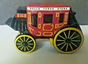 Vintage Wells Fargo Stage Coach Bank Cast Iron San Francisco - Excellent!