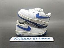 Nike Air Force 1 '07 Low White Royal Blue Toddler 2009 sz 5C