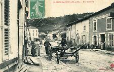Carte BLENOD LES TOUL Rue Centrale Ouvriers auprès de la remorque