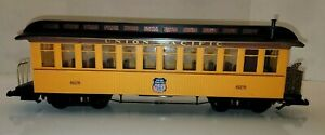 BACHMANN UNION PACIFIC OVERLAND OBSERVATION PASSENGER CAR #628 G SCALE 97301 BOX