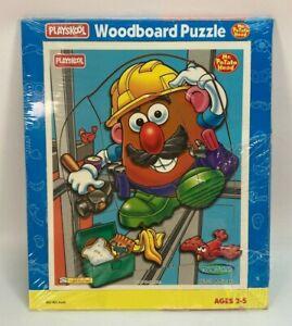 Vintage 1997 Playskool TOY STORY MR. POTATO HEAD Wood Board Puzzle Sealed