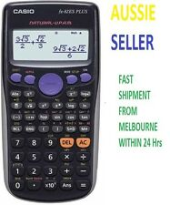 CASIO FX 82ES FX82ES FX-82ES Plus Scientific Calculator BK BLACK NEW genuine