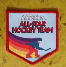 ~Atari Video Game Vintage 80's Activision Patch Ice Hockey All-Star Hockey Team~