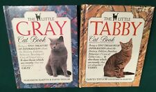 LOT 2 DK The Little GRAY and TABBY Cat Book David Taylor Elizabeth Martyn