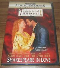 Shakespeare in Love (Dvd, 1999, Collectors Series) .sealed new