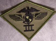 Embroidered Military Patch USMC 3rd Marine Aircraft Wing Airwing NEW jungle